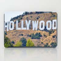 hollywood iPad Cases featuring Hollywood by DanielleC