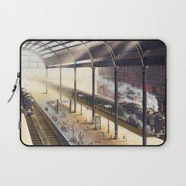 The Giraffe Train Station (Interior) Laptop Sleeve