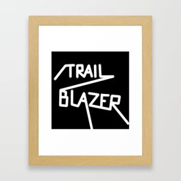Trailblazer B&W Framed Art Print