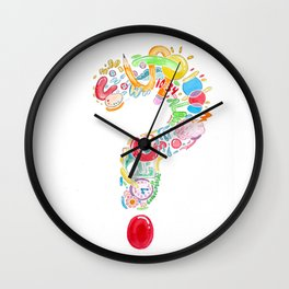 Question Wall Clock
