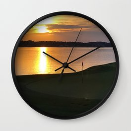 From the Green Wall Clock