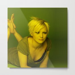 Hannah Spearritt - Celebrity (Photographic Art) Metal Print