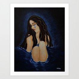 Pool of Sorrow Art Print