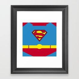 Superman - Superhero Framed Art Print