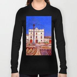 Joan Miro House with Palm Tree Long Sleeve T-shirt