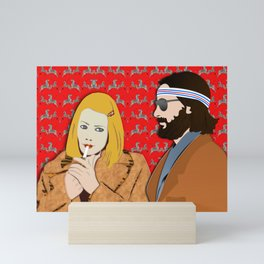 MARGOT AND RICHIE Mini Art Print