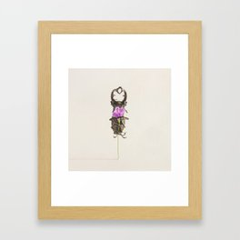 I Love You ~ I Know Framed Art Print