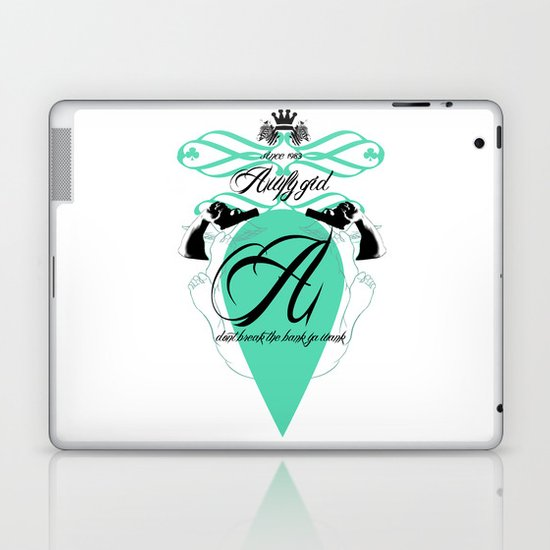 Dont break the bank ya wank! Laptop & iPad Skin