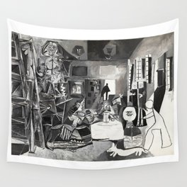 Pablo PIcasso The Maids Of Honor, Las Meninas, after Velázquez, 1957 Artwork Reproduction, Tshirts, Wall Tapestry