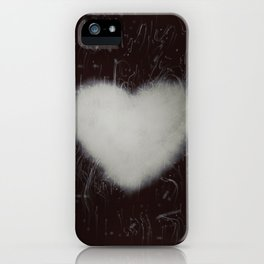 Handle with care b/n iPhone Case