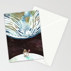 Bear on the Moon Stationery Cards