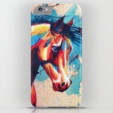 Horse Portrait iPhone 6s Plus Slim Case