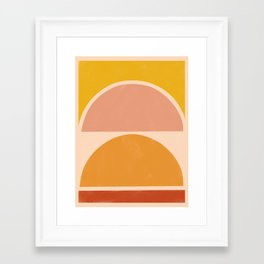 autumn sunshine 3 Framed Art Print
