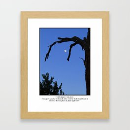 Witch Fingers Framed Art Print