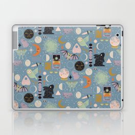Lunar Pattern: Blue Moon Laptop & iPad Skin