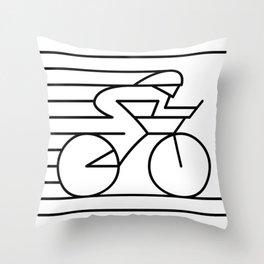 Roadie Bike Throw Pillow