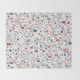 Icon pattern Throw Blanket