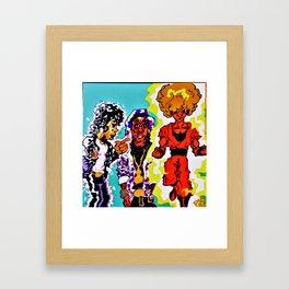 glo'd up Framed Art Print