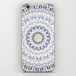 FESTIVAL SUMMER - FADED BLUE iPhone Skin