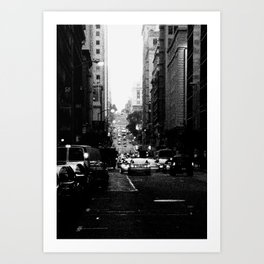 San Francisco Street - SF 082 Art Print