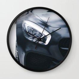 Sports Car Winter Wall Clock