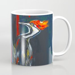 Fire Bird (Pileated Woodpecker) Coffee Mug
