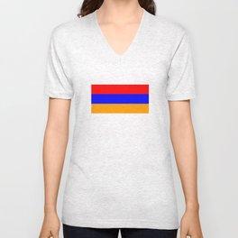 Armenia country flag Unisex V-Neck