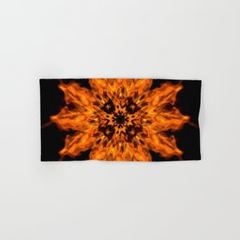Fire Ceremony Mandala 144 Hand & Bath Towel