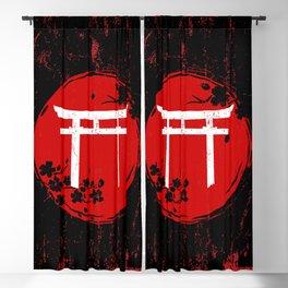 Japanese Torii Gate Blackout Curtain