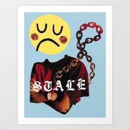 STALE Art Print