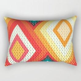 Decorative rhombs Rectangular Pillow