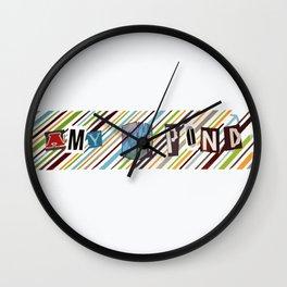 Amy Pond Wall Clock