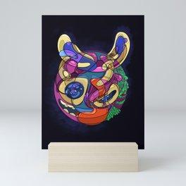 Quarantine Friends Exposed - el conejito Mini Art Print