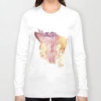 vagina Long Sleeve T-shirts featuring Verronica's Vagina Print by Nipples of Venus