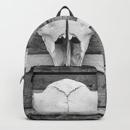 Buffalo Skull Backpack