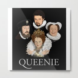 """Queenie"" Metal Print"