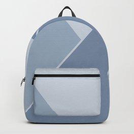 Shards Blue Backpack