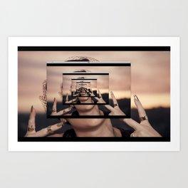 the internet Art Print