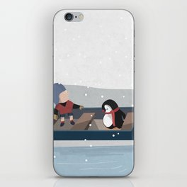 Reaching the South Pole iPhone Skin