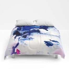 Riveting Abstract Watercolor Painting Comforters