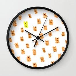 Gummy Bears Orange Flavor Wall Clock