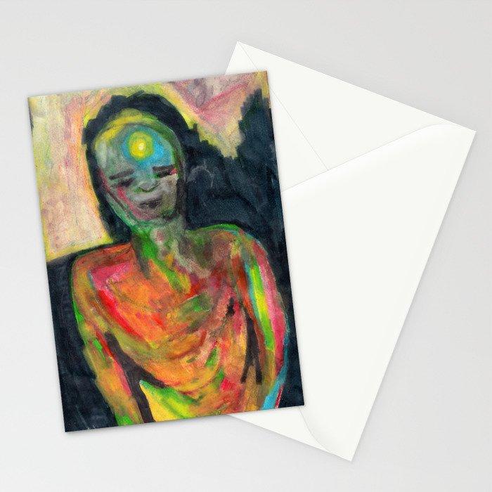 Spirit/Figure Stationery Cards
