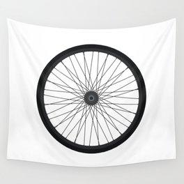 Bike Wheel Wall Tapestry