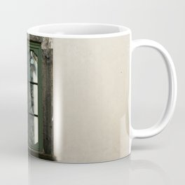 Medieval Green Window Coffee Mug