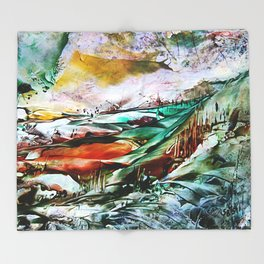 FarmLand Throw Blanket