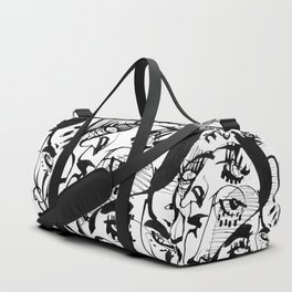The Pretty People - b&w Duffle Bag