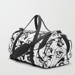 The Pretty People - b&w Duffle Bag