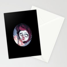 Dolls from the dark side: Drowned Stationery Cards