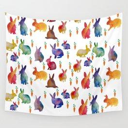 Rabbits Wall Tapestry