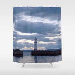 Newhaven Lighthouse Shower Curtain